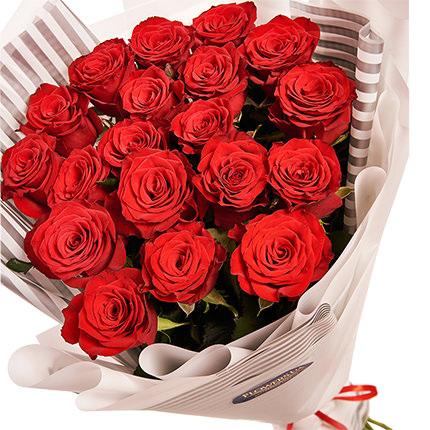 """Букет """"19 червоних троянд"""" - доставка по Україні"""