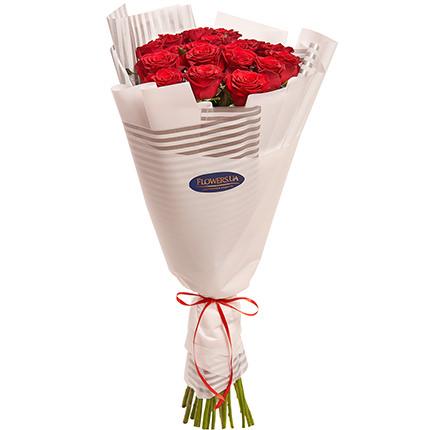 """Букет """"19 червоних троянд"""" - замовити з доставкою"""