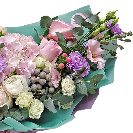 "Bouquet ""Under the sails of love"" - order with delivery"