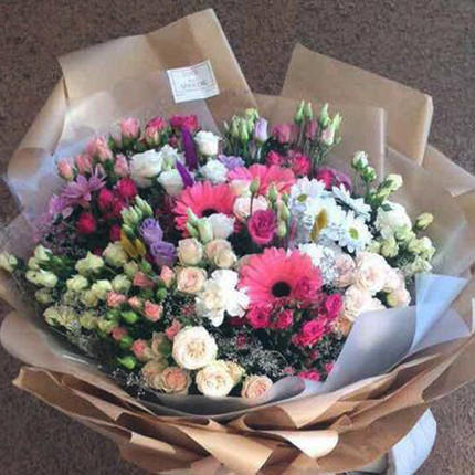 "Giant bouquet ""Perfect girl"" - delivery in Ukraine"