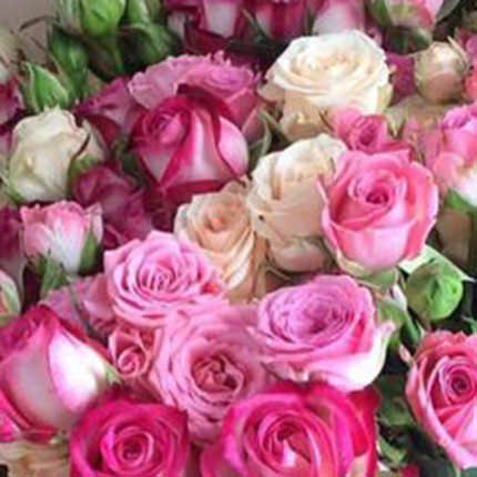 "Giant bouquet ""Perfect girl"" - order with delivery"