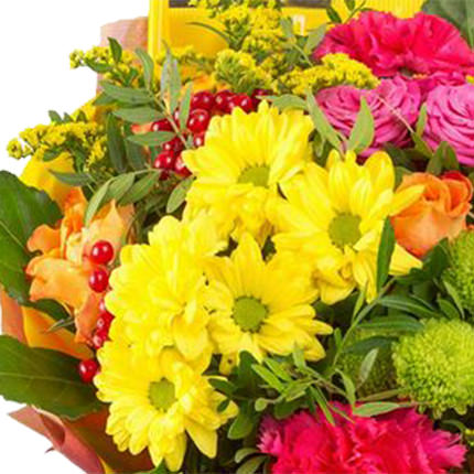 """Bouquet """"For September's holiday!"""" - order with delivery"""