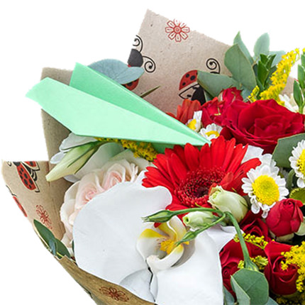 """Bouquet """"Back to school!"""" - order with delivery"""