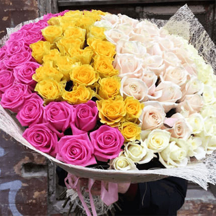 "Bouquet ""Our secret with you"" - order with delivery"