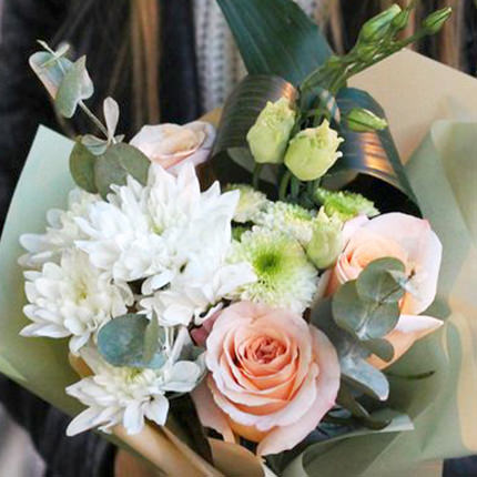 """Bouquet """"Beautiful compliment"""" - delivery in Ukraine"""