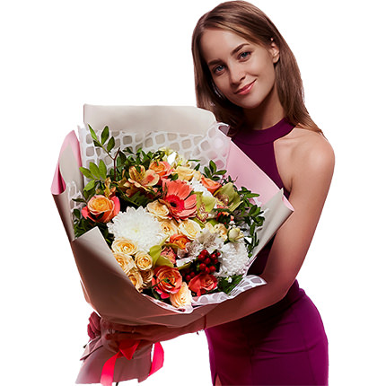 "Bouquet ""My dear"" - order with delivery"