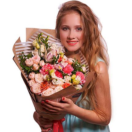 """Нежный букет """"Грани любви!"""" - доставка по Украине"""