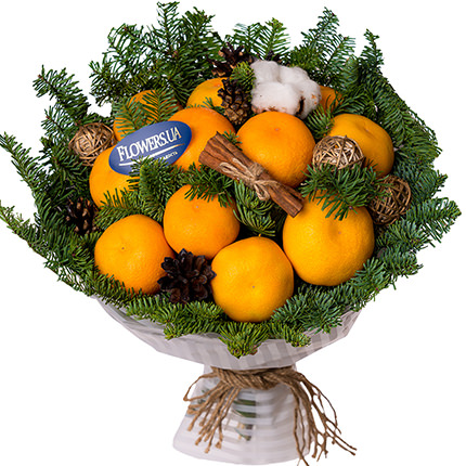 "Bouquet ""Fragrant tangerines"" - delivery in Ukraine"
