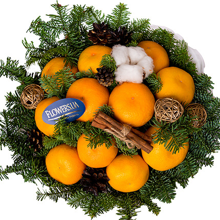 "Bouquet ""Fragrant tangerines"" - order with delivery"