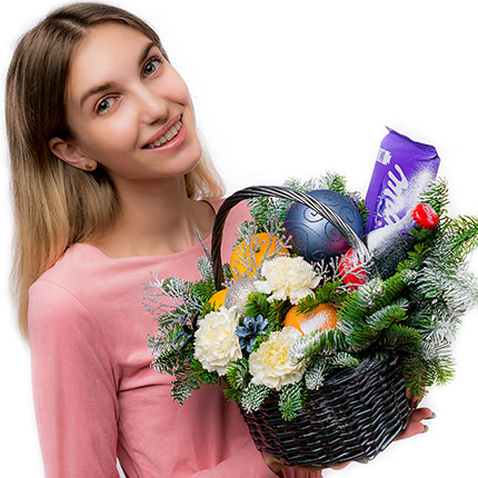 """Gift basket """"For the holiday!"""" - order with delivery"""