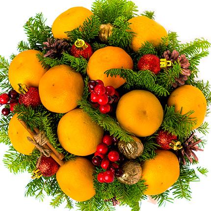 """Композиція в коробці """"Jingle Bells!"""" - доставка по Україні"""