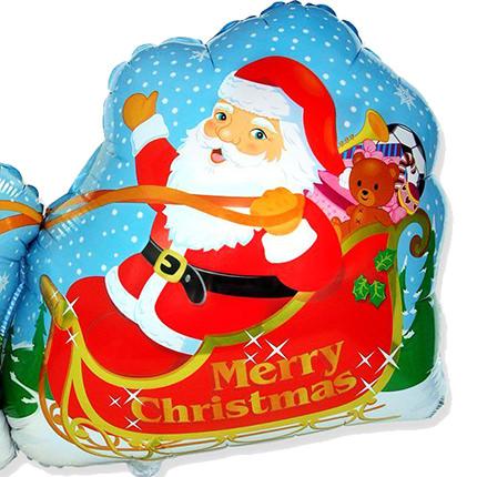 "Шарик ""Дед мороз!"" - доставка по Украине"