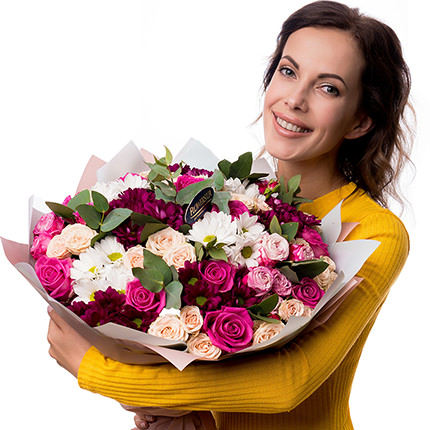 "Bouquet ""All for you ...!"" - order with delivery"