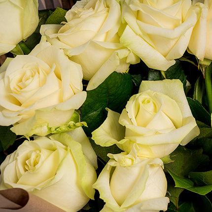 """Букет """"11 белых роз!"""" - доставка по Украине"""