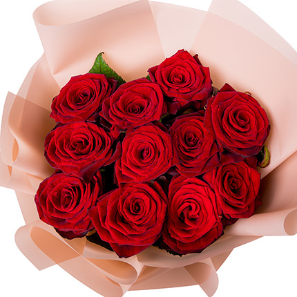 Bouquet of 11 red roses - delivery in Ukraine
