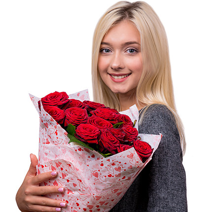Bouquet from St. Valentine! - order with delivery