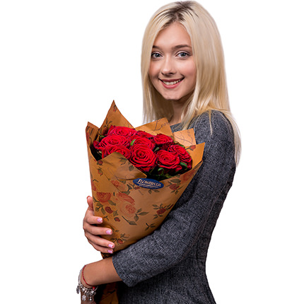 """Bouquet """"By February 14 for the beloved"""" - order with delivery"""