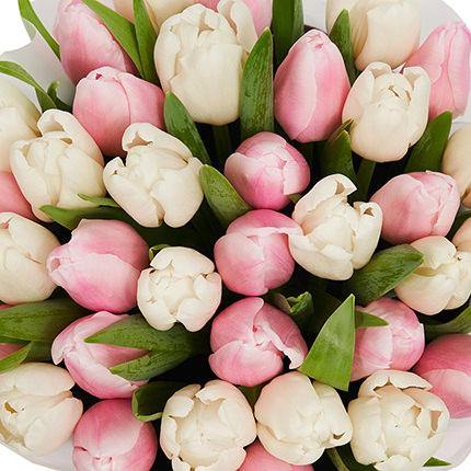 """Квіти в коробці """"Рожева хмаринка"""" - замовити з доставкою"""