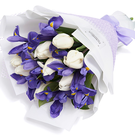 """Gentle bouquet """"Spring freshness"""" - order with delivery"""