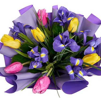"Bouquet ""Spring Colors"" - order with delivery"