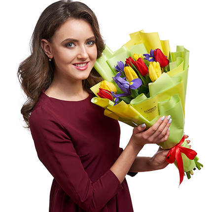 "Spring bouquet ""Pretty Woman!"" - delivery in Ukraine"