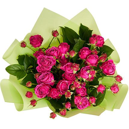 """Букет """"5 кустовых роз"""" - заказать с доставкой"""