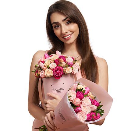 """Набор к 8-му марта """"Моим любимым женщинам...!"""" - доставка по Украине"""
