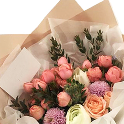"""Bouquet """"Beloved Mom!"""" - order with delivery"""