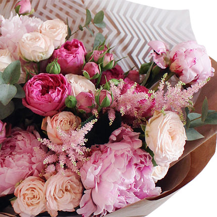 "Bouquet ""Mix of tenderness"" - delivery in Ukraine"