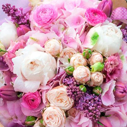 """Delicate bouquet """"From the spring garden!"""" - order with delivery"""