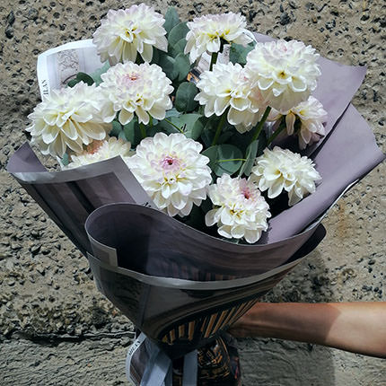 """Bouquet """"11 dahlias"""" - order with delivery"""