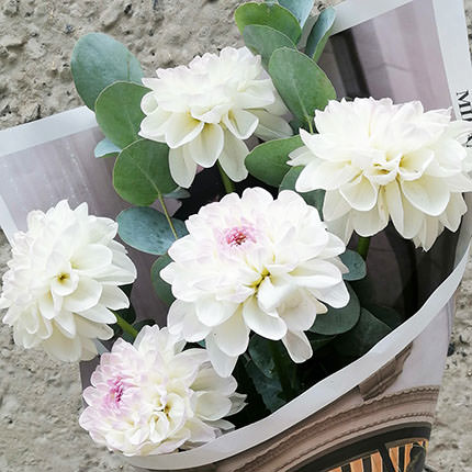 "Bouquet ""5 dahlias"" - delivery in Ukraine"