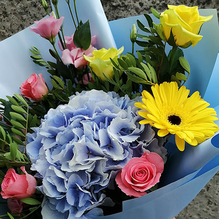 "Author's bouquet ""Sunny"" - delivery in Ukraine"