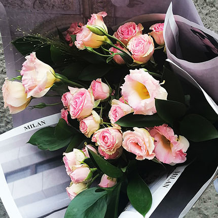 """Author's bouquet """"Milan"""" - order with delivery"""