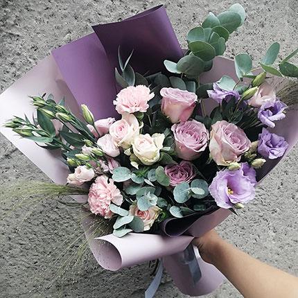 """Авторский букет """"Цветочный Фьюжн"""" - доставка по Украине"""