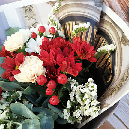 "Author's bouquet ""Classic"" - delivery in Ukraine"