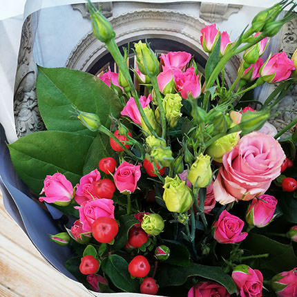 """Author's bouquet """"Romance"""" - order with delivery"""