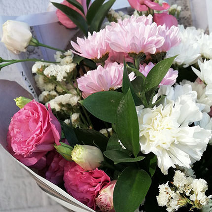 "Author's bouquet ""Gentle mix"" - order with delivery"