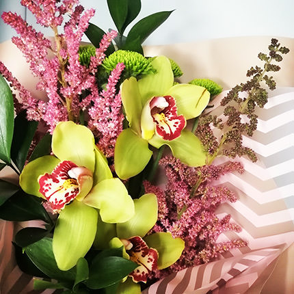 "Author's bouquet ""Tropical prize"" - delivery in Ukraine"