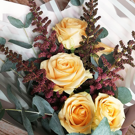 "Author's bouquet ""Sophisticated natures"" - order with delivery"