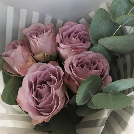 """Bouquet of 5 roses """"Memory Lane"""" - order with delivery"""