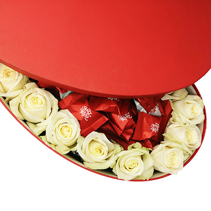 """Flowers in a Box """"Pleasant moments..."""" - order with delivery"""