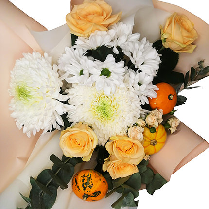 "Author's bouquet ""Pumpkin dessert"" - delivery in Ukraine"