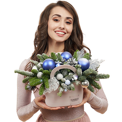 "Pot-bag ""Wishes come true!"" (with garland) - delivery in Ukraine"