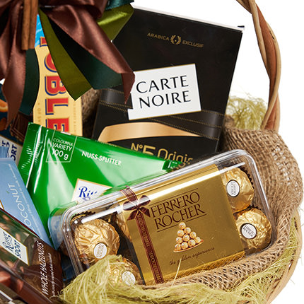 "Basket ""Coffee break"" - order with delivery"