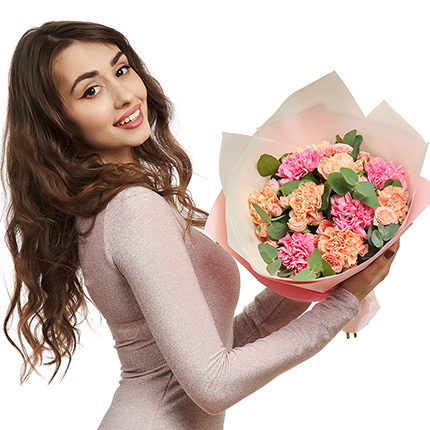 """Mixed bouquet """"My darling"""" - delivery in Ukraine"""