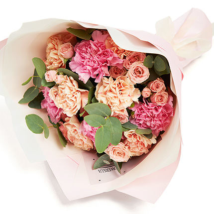 """Mixed bouquet """"My darling"""" - order with delivery"""