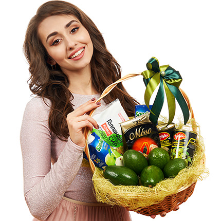 "Gift basket ""Avocado"" - delivery in Ukraine"