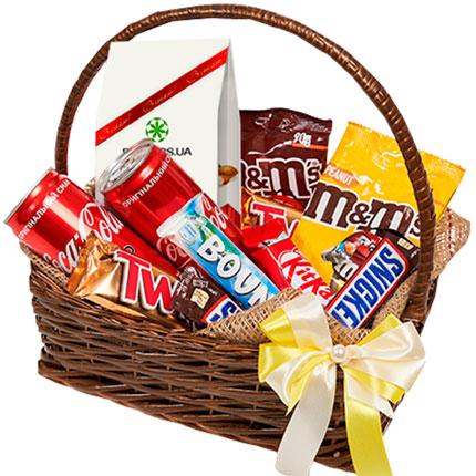 корзина сладостей - доставка по Украине