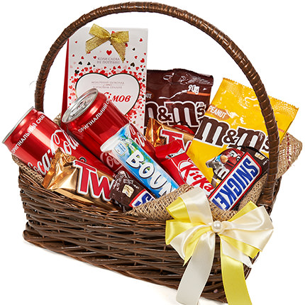"""Gift basket """"Sweet tooth's dream"""" - order with delivery"""